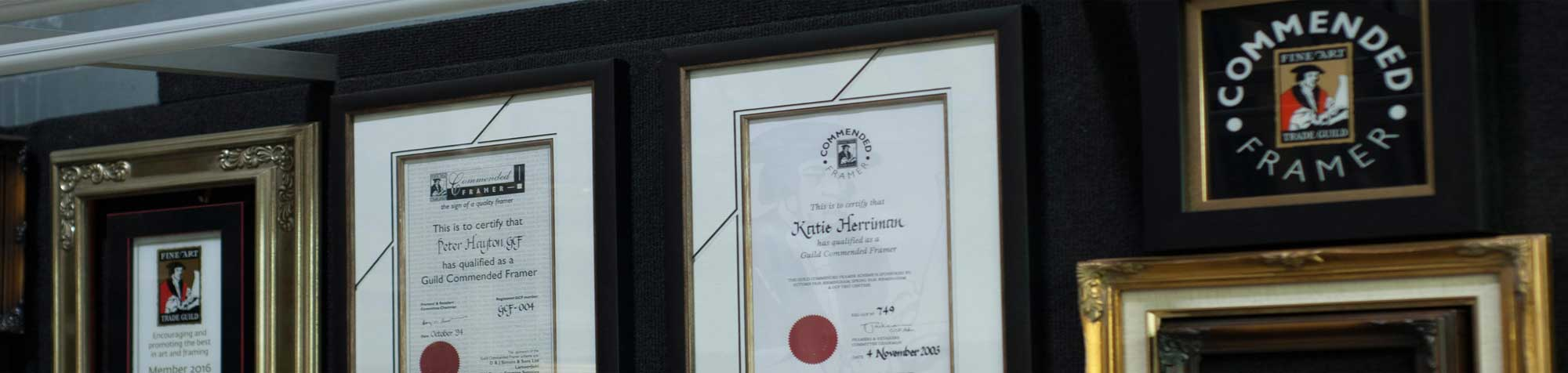 Framing certificates