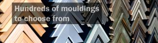 Hundreds of different mouldings available